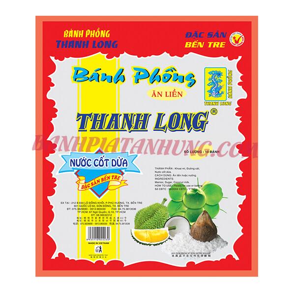 Bánh phồng sữa Thanh Long